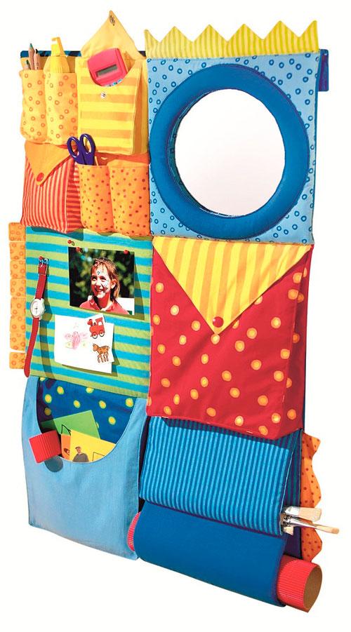 Кармашки для хранения: пусть в детской комнате будет порядок!
