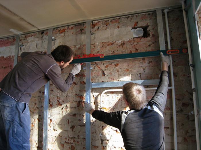Обшивка стен гипсокартоном своими руками
