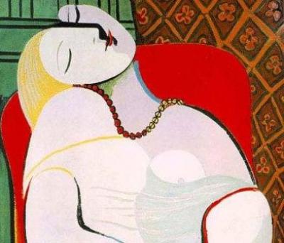 Набросок Пикассо
