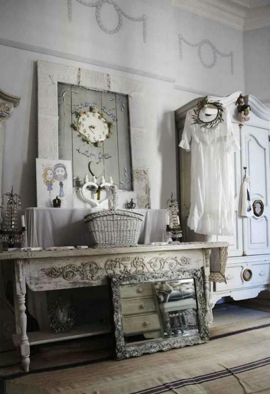Декор в винтажном стиле: хорошо забытое старое