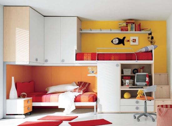 Маленькая детская  комната: особенности дизайна