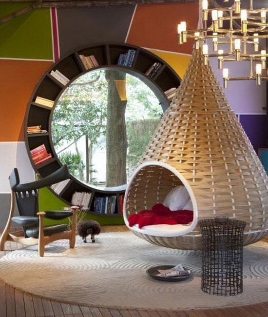 Плетеная мебель в интерьере: частичка живой природы у вас дома