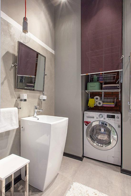 Квартира в центре Москвы в стиле лофт