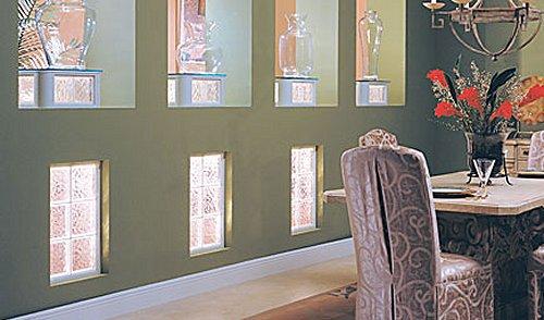 Перегородки из стеклоблоков в интерьере