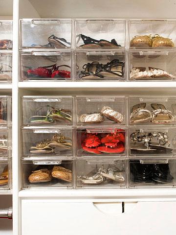 Как хранить обувь: интересные идеи
