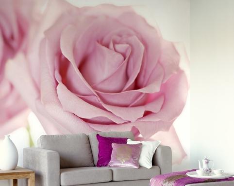Фотообои с цветами