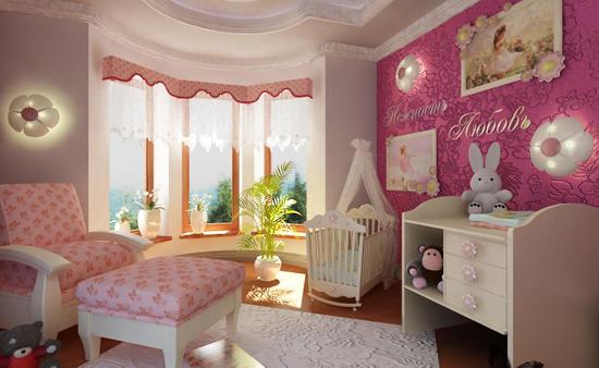 Дизайн детской комнаты с балконом:фото, рекомендации