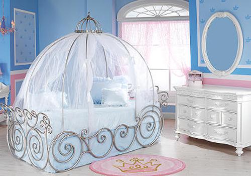 Интерьер детской комнаты для принцессы: уникальность против стереотипов
