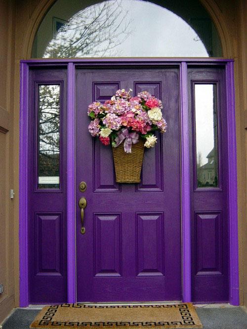 Украшение входной двери: лучшие идеи для вашего дома