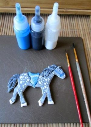 Готовимся к году Лошади — делаем лошадок из теста