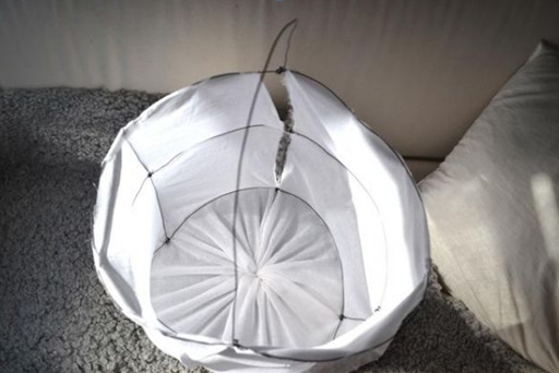 Лампа из марли