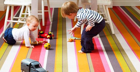 Ковролин в детскую комнату: правила выбора