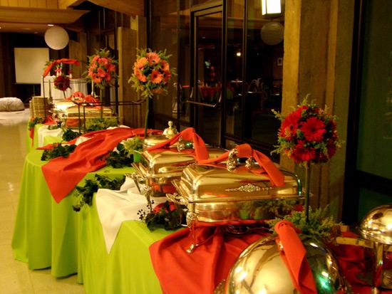 Оформление фуршетного стола:пусть ваш праздник будет красивым
