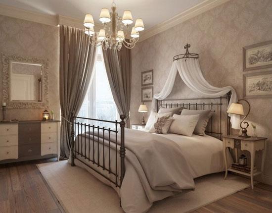 Портьеры для  спальни: советы по выбору