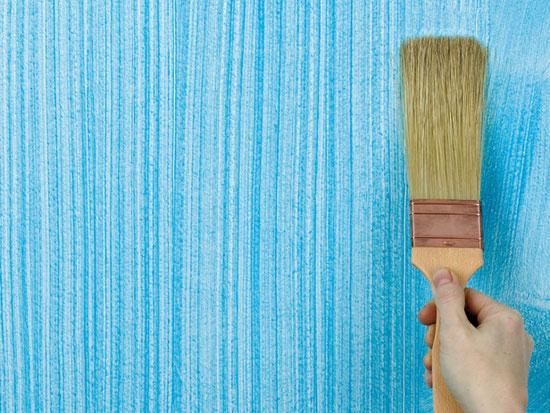 Декоративное окрашивание стен: интересные возможности