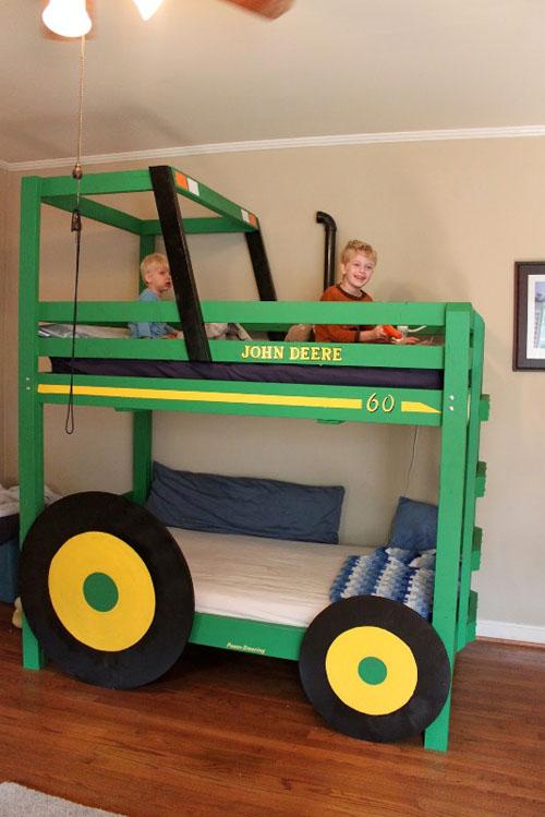 Детская комната для двойняшек: один интерьер на двоих