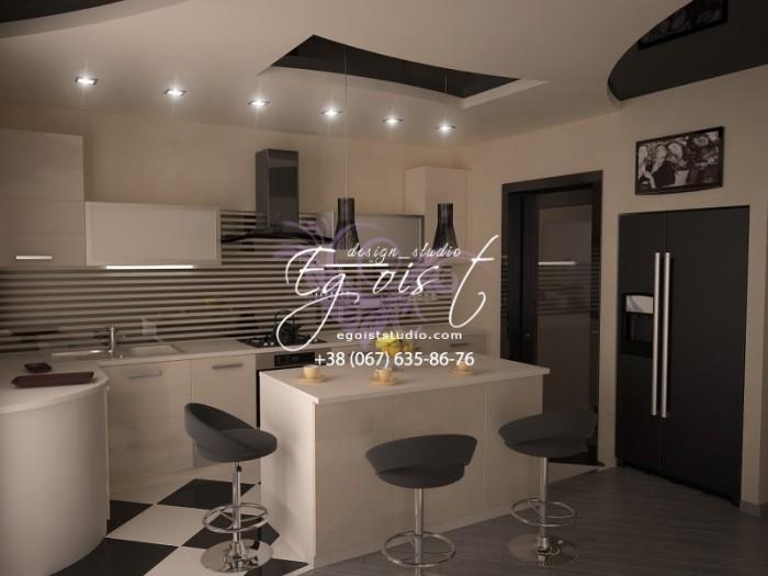 Квартира-студия в стиле арт-деко