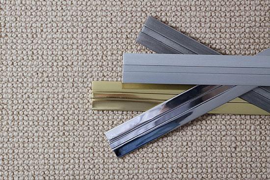 Как красиво заделать стык между плиткой и ламинатом