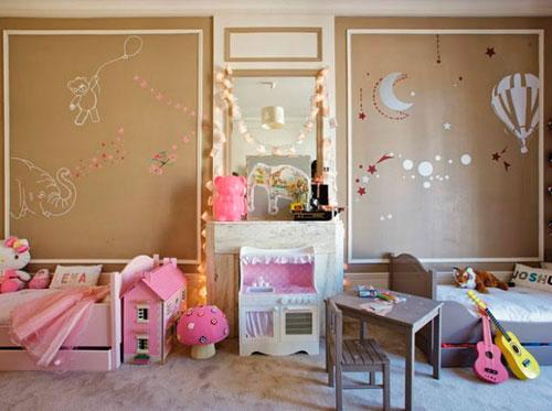 Детская комната для двоих детей: планирование и дизайн