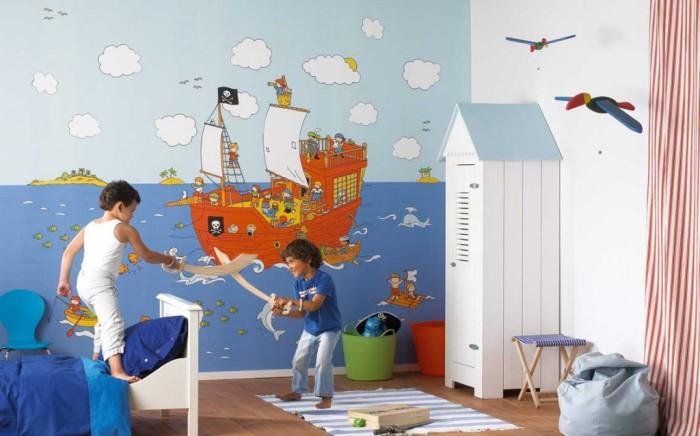 Детские фотообои для девочек и мальчиков: сказочный мир с доставкой на дом