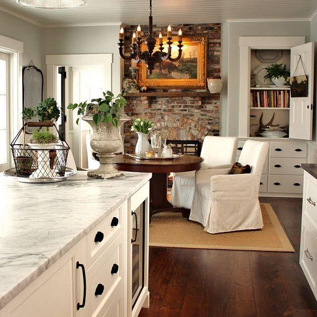 Кухня в стиле кантри: гармония и уют