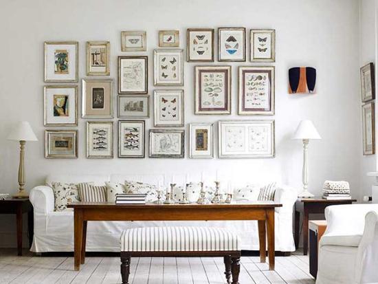 Белые стены в интерьере