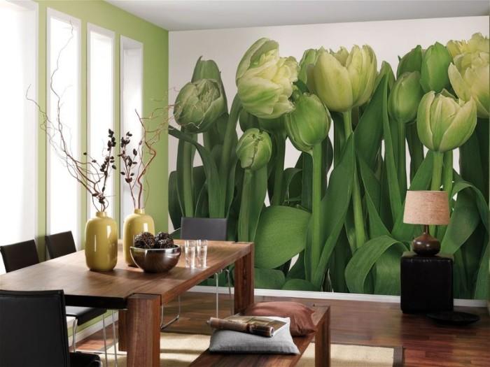 Фотообои: тюльпаны