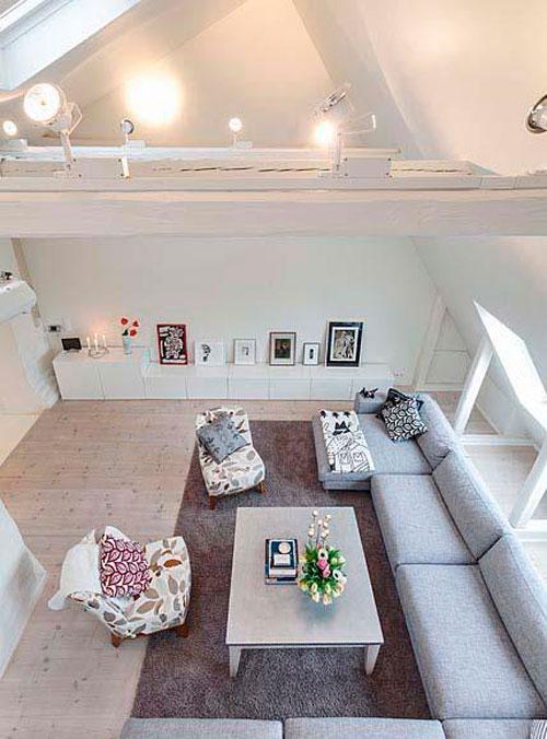 Дизайн спальни в мансарде: оригинальные идеи