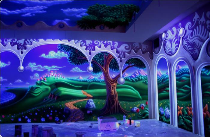 Удивительные фотообои 3D эффектом на стену (21 фото)