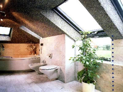 Жидкие обои в ванной комнате: лучшее решение