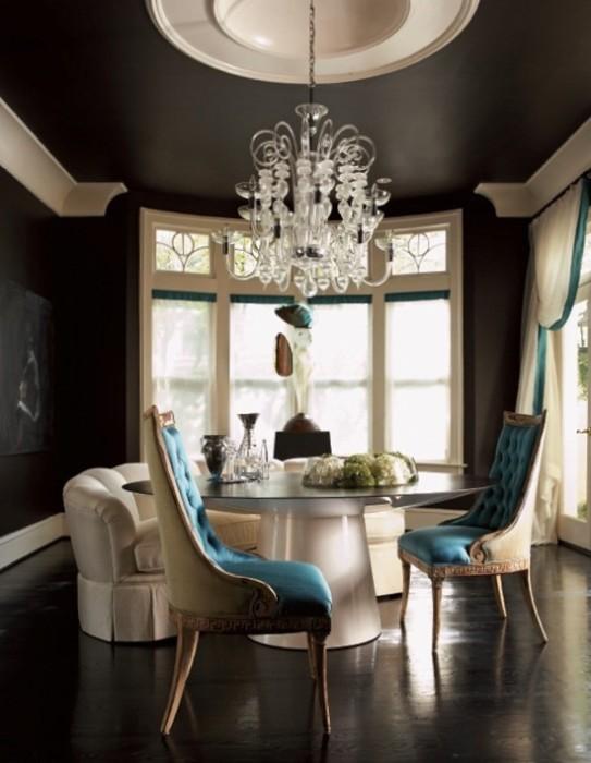 Потолок в гостиной – решения на любой вкус