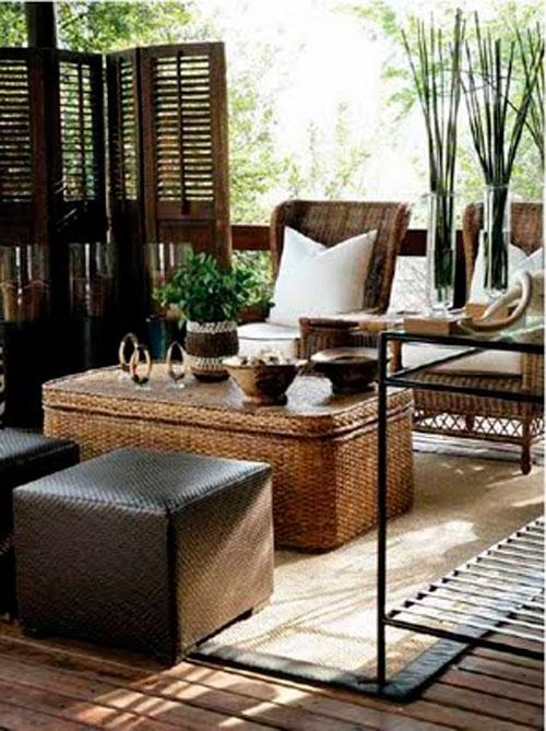 Африканский стиль в интерьере гостиной: этнические мотивы