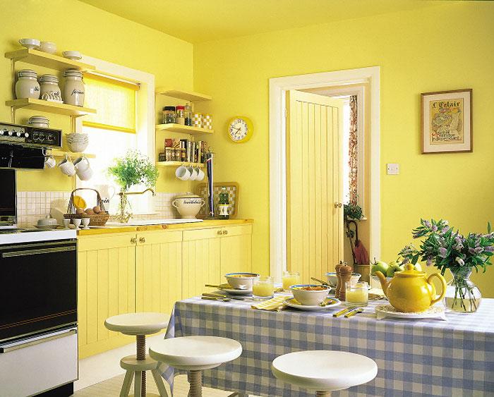 Покраска стен в квартире: различные варианты