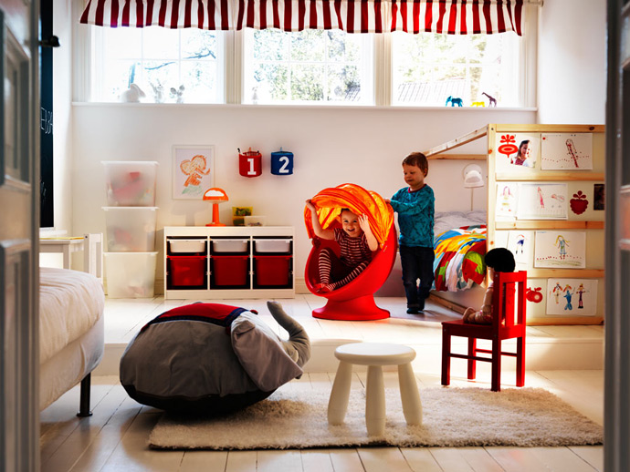 Детская комната: планируем и обставляем мебелью