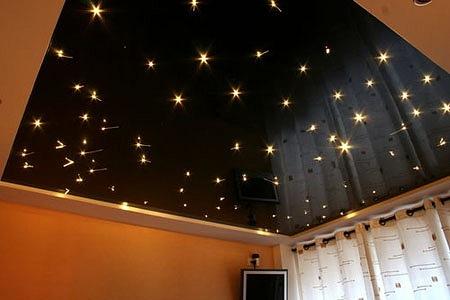 Потолок «звездное небо» своими руками: если звезды зажигают, значит это кому-нибудь нужно