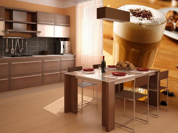 Фотообои для кухни: царство для гурманов