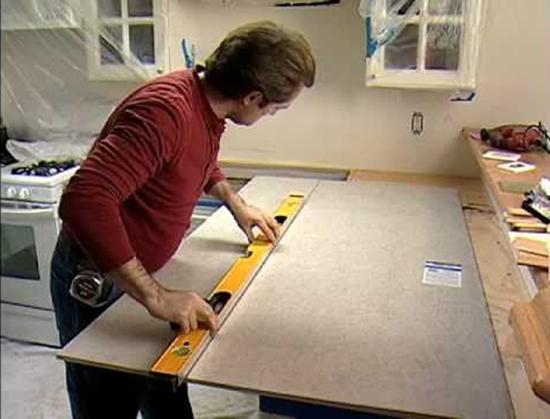 Кухонная столешница из керамической плитки: практично и красиво