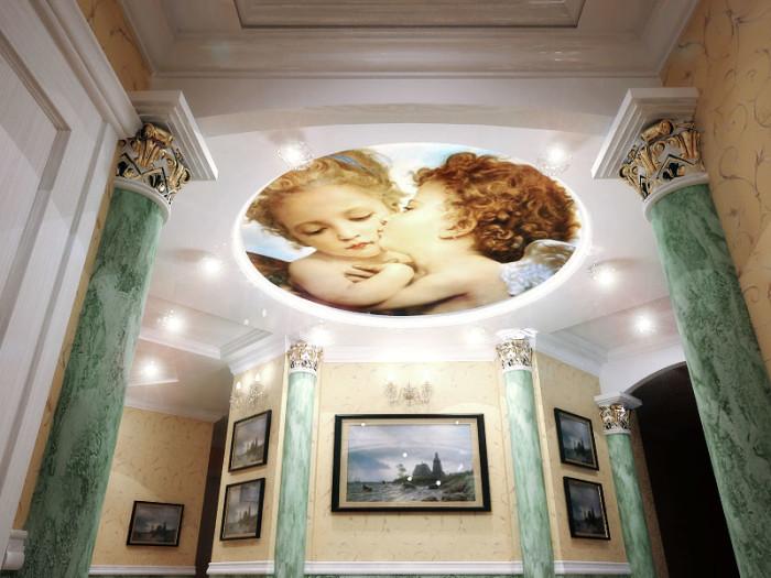 Фотообои: фрески как роскошь в домашнем интерьере