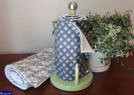 Кухонные полотенца своими руками – советы начинающим