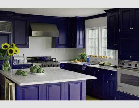 Кухня цвета «баклажан»: примеры изысканного дизайна интерьера, Оформление интерьеров