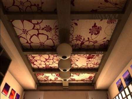 Двухуровневые потолки на кухне: примеры потолочного дизайна из разных материалов