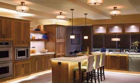 Кухонный остров в коттеджах и городских квартирах: 27 вариантов дизайна островной кухни