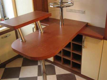 Барная стойка для кухни Икеа: своеобразие дизайнерской мысли