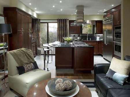 Планировка кухни-гостиной: особенности, недостатки, рекомендации