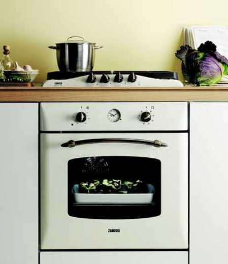 Современная кухня в стиле Ретро: изучаем и воплощаем