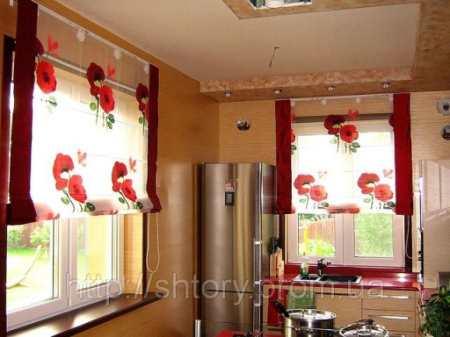 Выбираем римские шторы на кухню: фото-гид с подсказками дизайнера