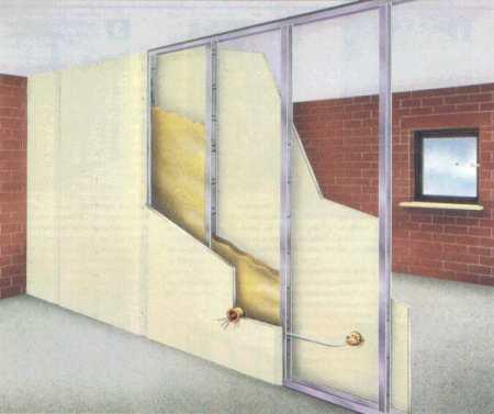 Перегородка между кухней и коридором: как проще всего сделать