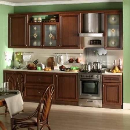 Наборная мебель для кухни – быстрое решение заполнения помещения