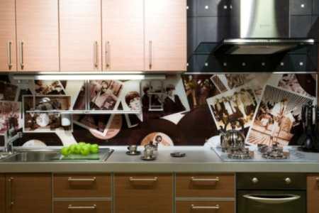 Стеклянные панели для кухни – та самая «изюминка» вашего интерьера