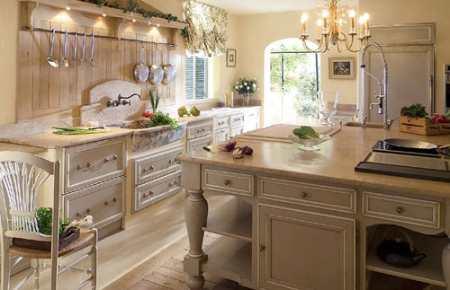 Кухня во французском стиле – неповторимый шарм и изящество